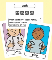 Image for Let's Sign BSL Flashcards : Early Years and Baby Signs (British Sign Language)