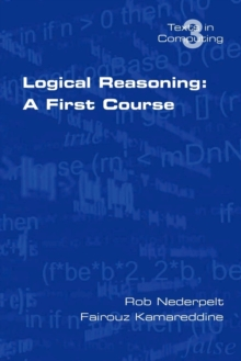 Image for Logical Reasoning : A First Course