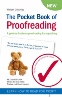 Image for The pocket book of proofreading  : a guide to freelance proofreading & copy-editing