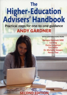 Image for The higher-education advisers' handbook  : practical steps for one-to-one guidance