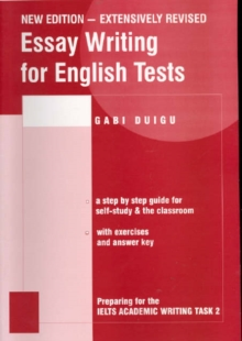 Image for Essay writing for English tests