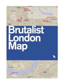 Image for Brutalist London map