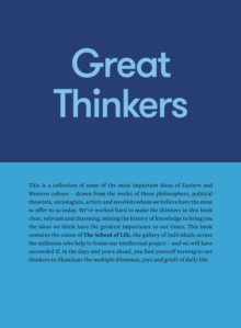Image for Great Thinkers : Simple Tools from 60 Great Thinkers to Improve Your Life Today