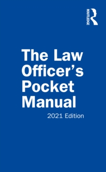 Image for The law officer's pocket manual
