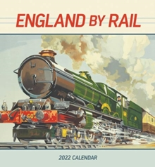 Image for ENGLAND BY RAIL 2022 WALL CALENDAR