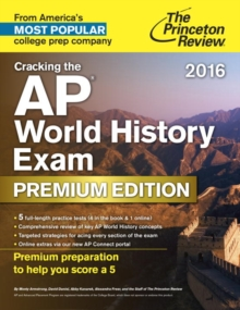 Image for Cracking the AP world history exam 2016