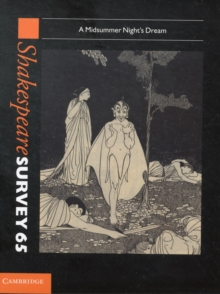 Image for Shakespeare surveyVolume 65,: A midsummer night's dream