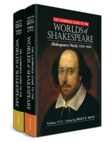 Image for The Cambridge Guide to the Worlds of Shakespeare 2 Volume Hardback Set