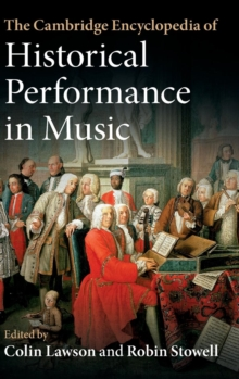 Image for The Cambridge encyclopedia of historical performance in music