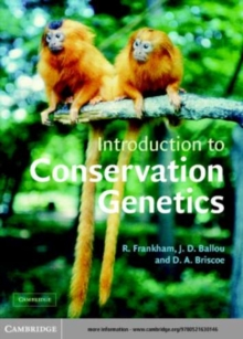 Image for Introduction to conservation genetics