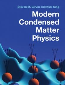 Image for Modern condensed matter physics