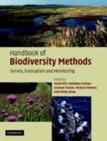 Image for Handbook of biodiversity methods: survey, evaluation and monitoring