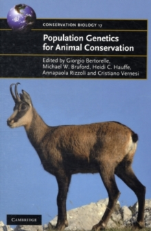 Image for Population genetics for animal conservation