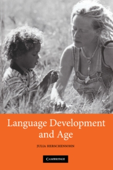 Image for Language development and age