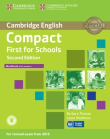 Image for Compact first for schools: Workbook with answers