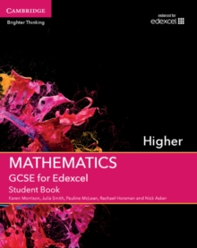 Image for GCSE mathematics for EdexcelHigher,: Student book