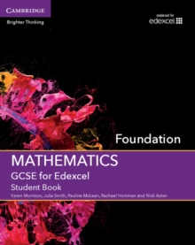 GCSE mathematics for EdexcelFoundation,: Student book