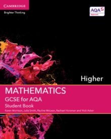 Image for GCSE mathematics for AQAHigher,: Student book