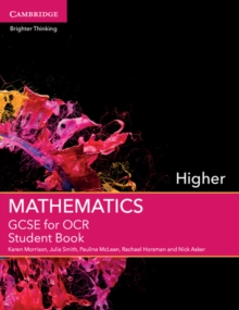 GCSE mathematics for OCRHigher,: Student book