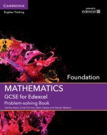 Image for GCSE mathematics for EdexcelFoundation,: Problem-solving cut