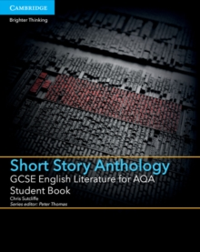 Image for GCSE English literature for AQA short story anthology: Student book