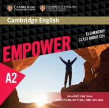 Image for Cambridge English empowerElementary,: Class audio CDs
