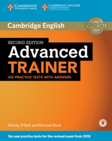 Image for Advanced trainer  : six practice tests with answers with audio