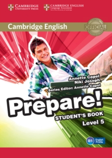 Image for Cambridge English prepare!Level 5,: Student's book