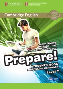 Image for Cambridge English prepare!Level 7,: Student's book and online workbook