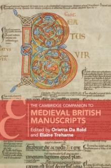 Image for The Cambridge companion to medieval British manuscripts