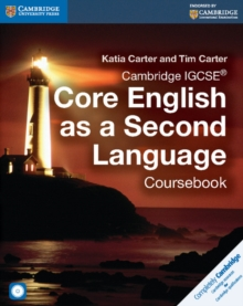 Image for Cambridge IGCSE core English as a second language coursebook
