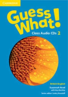 Image for Guess What! Level 2 Class Audio CDs (3) British English