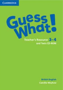 Image for Guess What! Levels 3-4 Teacher's Resource and Tests CD-ROMs