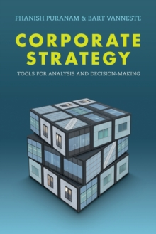 Image for Corporate strategy  : tools for analysis and decision-making
