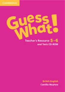 Image for Guess What! Levels 5-6 Teacher's Resource and Tests CD-ROMs