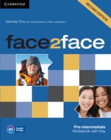 Image for face2facePre-intermediate,: Workbook with answer key