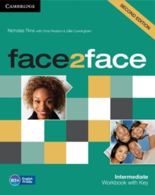 Image for Face2faceIntermediate,: Workbook with key
