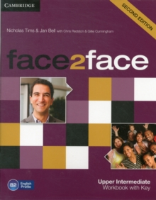 Image for Face2faceUpper intermediate,: Workbook with key