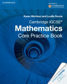 Image for Cambridge IGCSE  mathematics: Core practice book