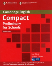 Image for Compact preliminary for schools: Teacher's book
