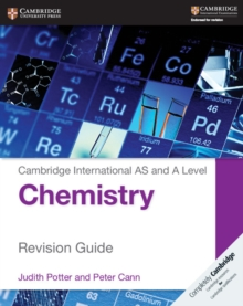Image for Cambridge international AS and A level chemistry: Revision guide