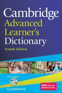 Image for Cambridge advanced learner's dictionary