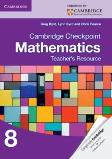 Image for Cambridge Checkpoint Mathematics Teacher's Resource 8