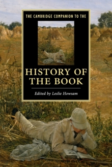 Image for The Cambridge companion to the history of the book