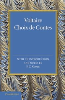 Image for Voltaire  : choix de contes