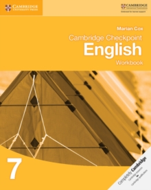 Image for Cambridge Checkpoint EnglishWorkbook 7