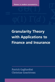 Image for Granularity theory with applications to finance and insurance