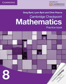 Image for Cambridge checkpoint mathematics: Practice book 8