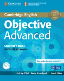Image for Objective Advanced Student's Book without Answers with CD-ROM