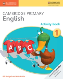 Image for Cambridge Primary English Activity Book 1